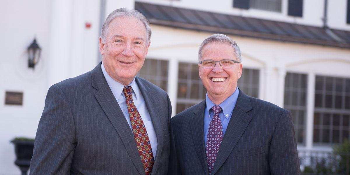 Joe Crimmins and David Gingher